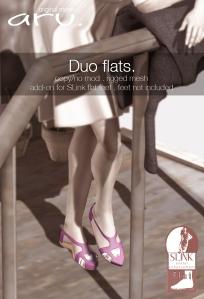 aru - Duo flats